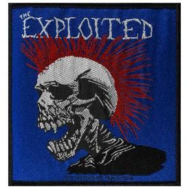 Patch THE EXPLOITED - Mohican Multicolour