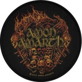 Patch AMON AMARTH - Burning Skulls