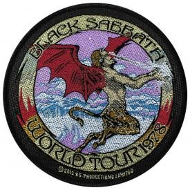 Patch BLACK SABBATH - World Tour 1978