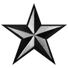 Patch STAR - Nautical Black & White