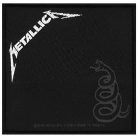 Patch METALLICA - Black Album Cover