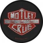 Patch MOTLEY CRUE - Girls Girls Girls