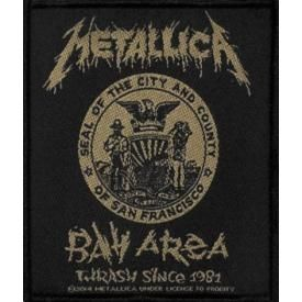 Patch METALLICA - Bay Area Seal