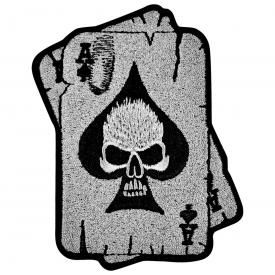 Patch TÊTE DE MORT - Ace Of Spades Cards