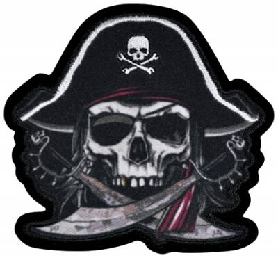 fac21244987d Patch TÊTE DE MORT - Pirate - Rock A Gogo
