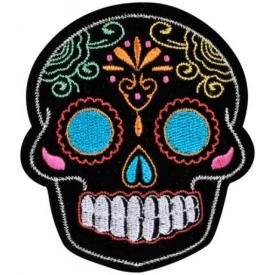 Patch TÊTE DE MORT - Mexican Colors