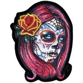 Patch TÊTE DE MORT - Mexican Girl