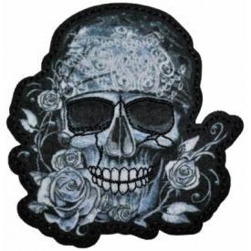 Patch TÊTE DE MORT - Roses
