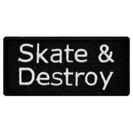 Patch DIVERS - Skate & Destroy