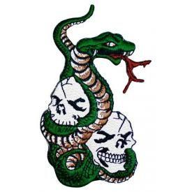 Patch TÊTE DE MORT - Serpent
