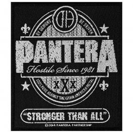 Patch PANTERA - Stronger Than All