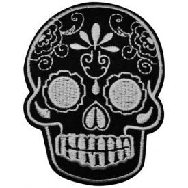 Patch TÊTE DE MORT - Mexican B&W