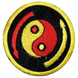 Patch YING YANG - Arrows
