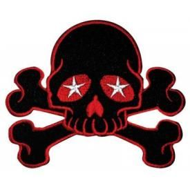 Patch SKULL - Red Crossbones