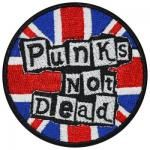 Patch DIVERS - Punks Not Dead