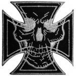 Patch TÊTE DE MORT - Maltese Cross