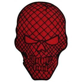 Patch DIVERS - Red Check Skull