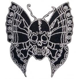 Patch DIVERS - Butterfly Skull