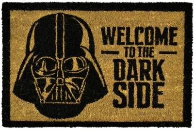 paillasson d 39 ext rieur star wars welcome to the dark side paillassons rock a gogo. Black Bedroom Furniture Sets. Home Design Ideas