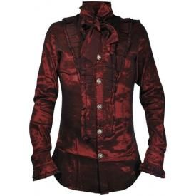 Chemise Manches Longues PENTAGRAMME - Red Baron