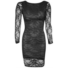 Robe SPIRAL - Lace Lined