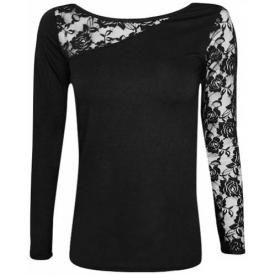 T-Shirt Manches Longues Nana Spiral DIVERS - Lace Shoulder