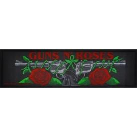 Patch Long GUNS N ROSES - Logo Roses