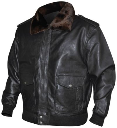 blouson mec cuir aviator vestes blousons rock a gogo. Black Bedroom Furniture Sets. Home Design Ideas