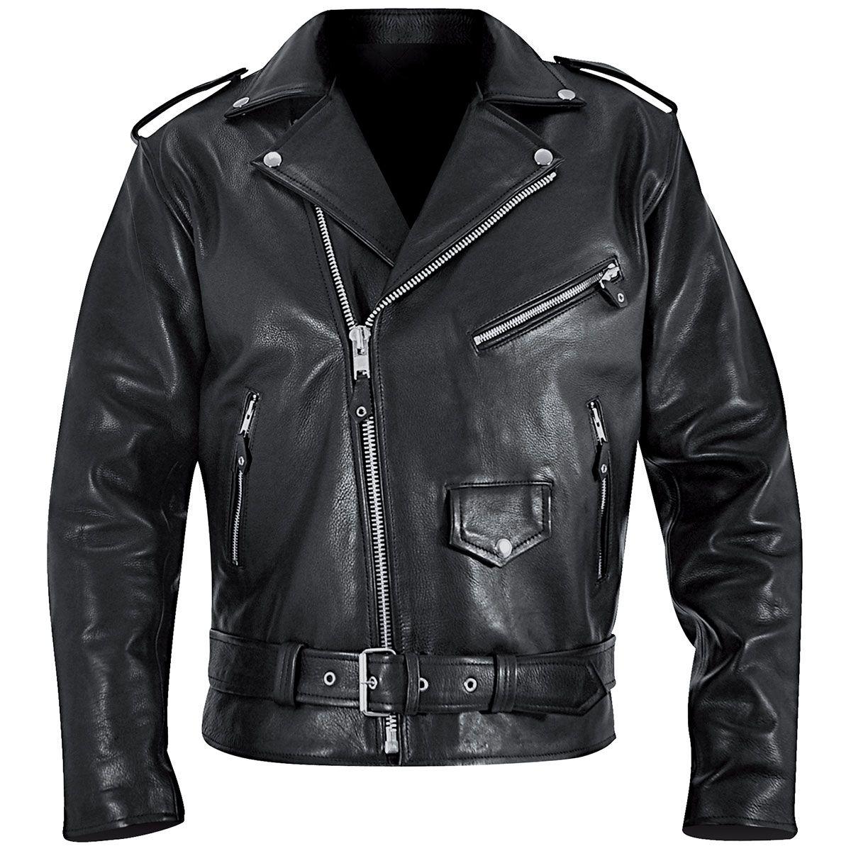 blouson cuir mec osx brando jacket vestes blousons rock a gogo. Black Bedroom Furniture Sets. Home Design Ideas