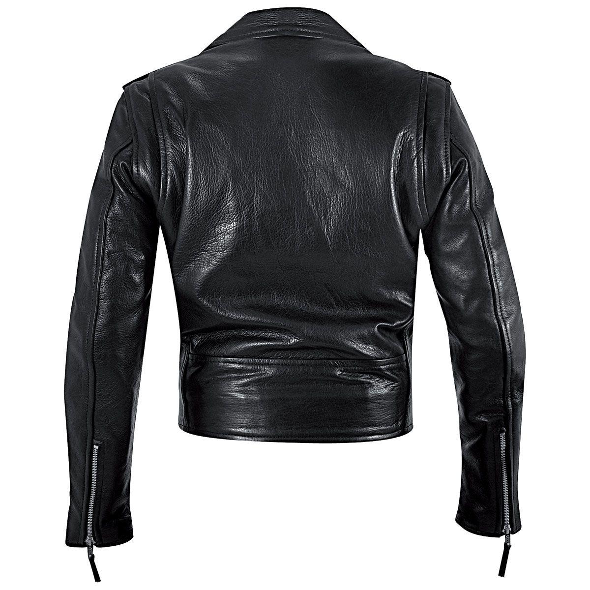 Blouson Cuir Femme OSX - Brando Lady Jacket - Rock A Gogo c86d6f3334fe