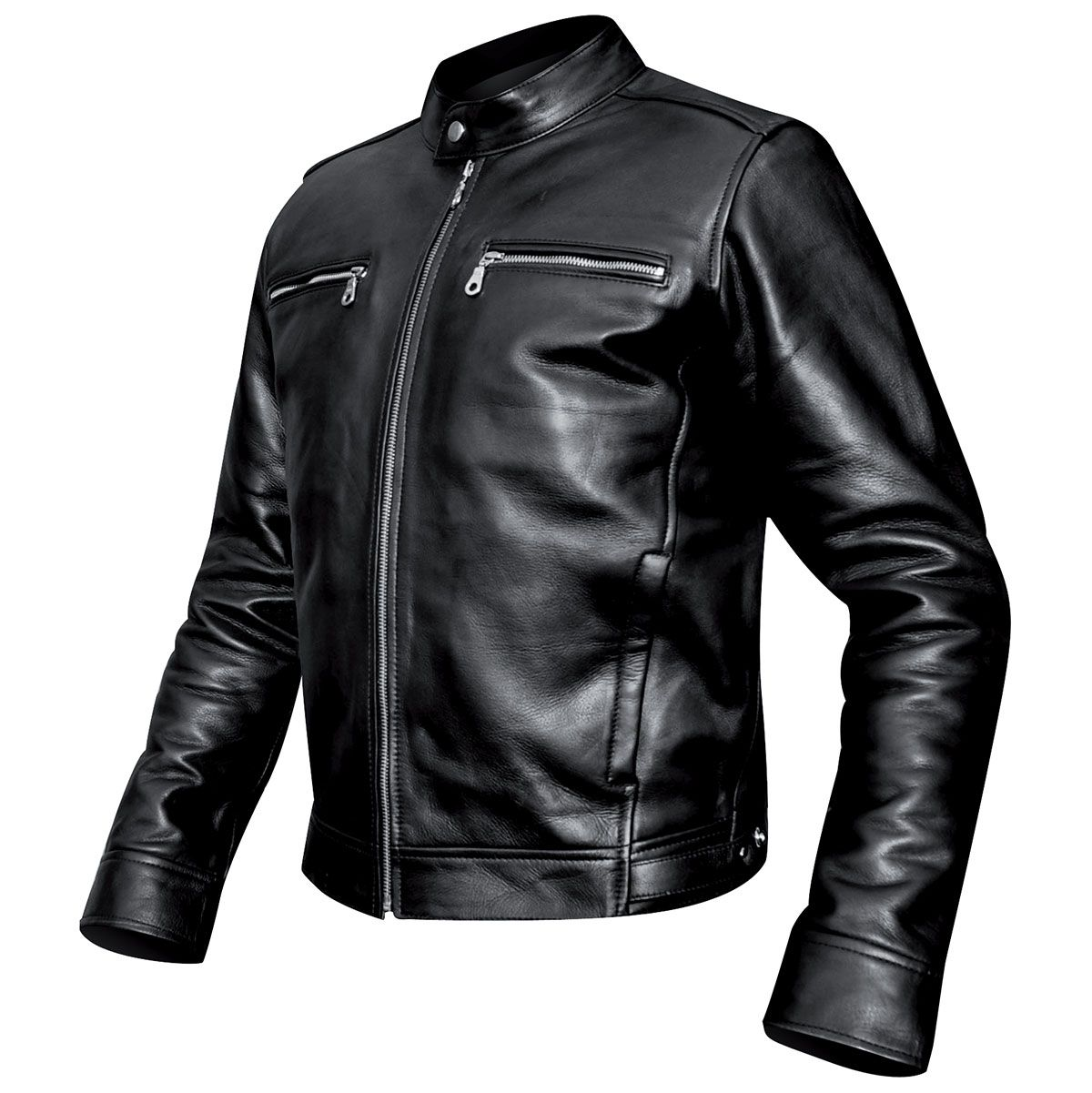 blouson cuir mec osx harrison jacket vestes blousons rock a gogo. Black Bedroom Furniture Sets. Home Design Ideas