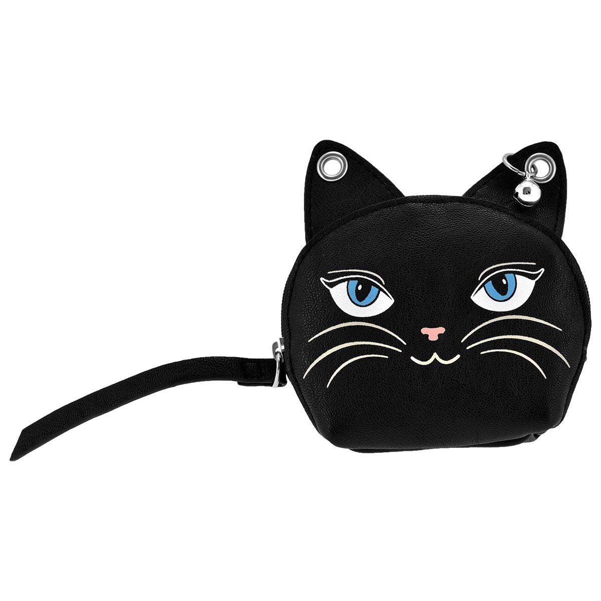 nouveau produit 2b6bb d2758 Porte Monnaie BANNED - Black Cat - Rock A Gogo