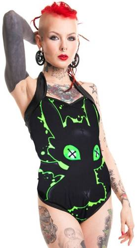 maillot de bain femme cupcake cult voodoo dragon maillots de bain rock a gogo. Black Bedroom Furniture Sets. Home Design Ideas