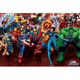 Poster MARVEL COMICS - Attack