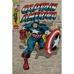Poster CAPTAIN AMERICA - Retro