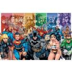 Poster DC COMICS - Justice Leage