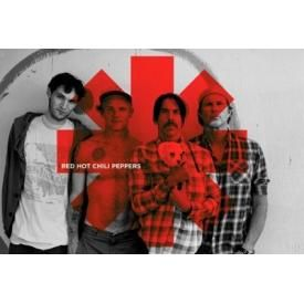 Poster RED HOT CHILI PEPPERS - Red Asterisk