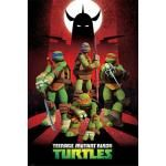 Poster LES TORTUES NINJA - Teenage