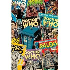 Poster DOCTOR WHO - Comics