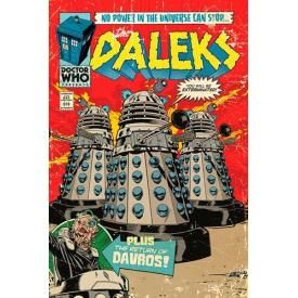 Poster DOCTOR WHO - Dalek Comic Cover
