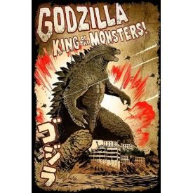 Poster GODZILLA - King Of Monsters