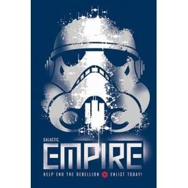 Poster STAR WARS - Rebel Enlist