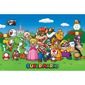 Poster MARIO - Super Mario Characters