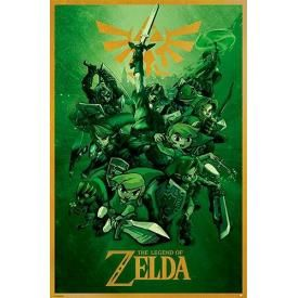 Poster NINTENDO - The Legend Of Zelda