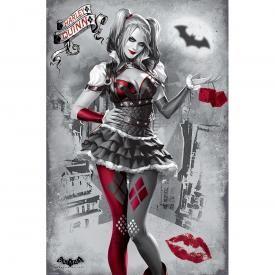 Poster BATMAN - Arkham Knight Harley Quinn