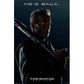 Poster TERMINATOR - Genisys He's Back