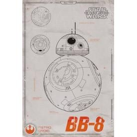 Poster STAR WARS - BB-8