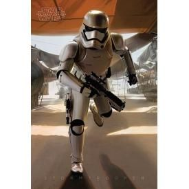 Poster STAR WARS - Stormtrooper Running