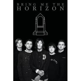 Poster BRING ME THE HORIZON - Throne Band