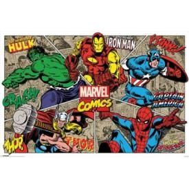 Poster MARVEL COMICS - Burst